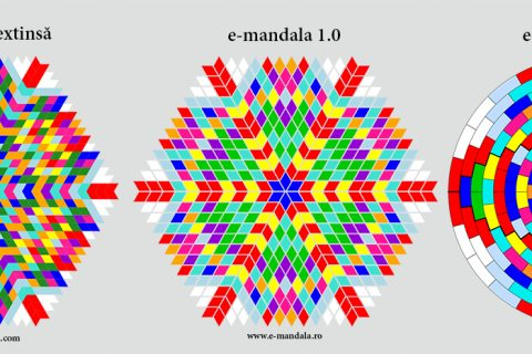 e-Mandala: 1.0, 1.0 extins, 2.0